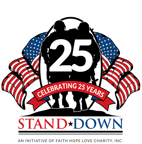 Stand Down Logo White Background
