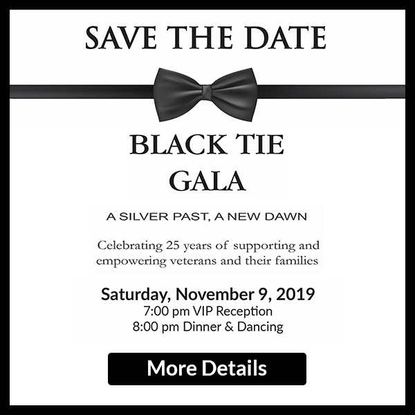 Save the Date Black Tie Gala 2019