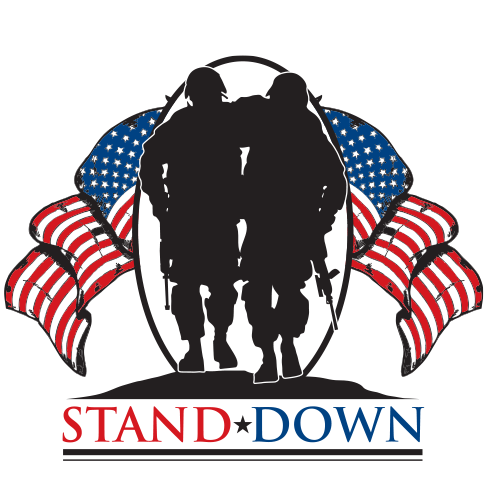 Stand Down Logo White Background 2020
