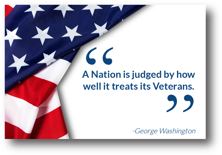 A Nation is Judged by How Well It Treats Its Veterans